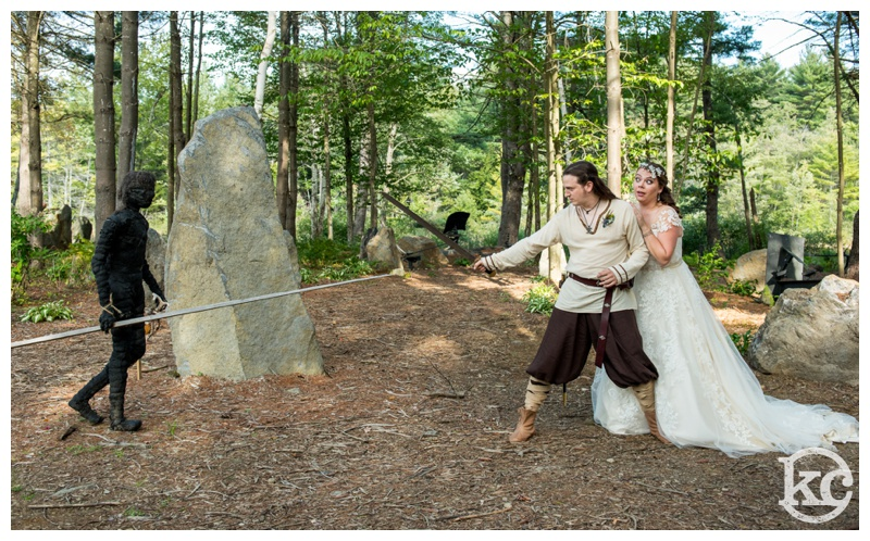 Wedding at Three Sisters Sanctuary, Kristin Chalmers Photography